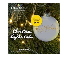 Buy Now and Get Minimum 5% Discount on Every LED Christmas Light