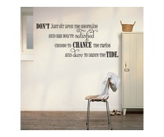 Wall Decal Inspirational Quotes For Home Decor