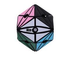 Yongjun YJ8214 Moyan No.2 Irregular Shape Magic Cube Puzzle Toy Black