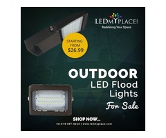 Buy Outdoor LED Flood Light Fixtures at Efficient Price, Grab the Deal Today!