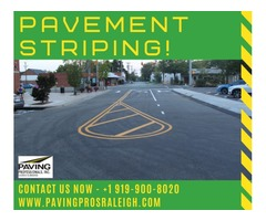 Pavement Striping Raleigh NC