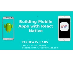 React Native App Development Agency - Techwin Labs