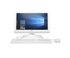HP 20-Inch All-In-One Computer, Intel Celeron J4005, 4GB RAM, 1TB Hard Drive, Windows 10 (20-C410, W