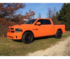 2015 Ram 1500 ignition orange special edition