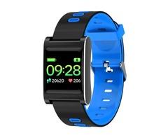 """XANES VO419 1.0"""" IPS Color Touch Screen IP68 Waterproof Smart Watch Pedometer Heart"""