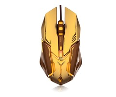 M639 USB Wired Gaming Mouse,Optical Mouse Support Custom Macro Programming