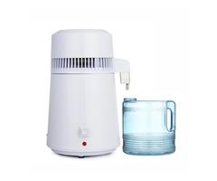 750W 4L Stainless Steel Electric Pure Water Distiller Purifier Internal Filter