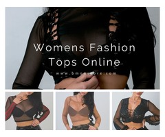 Get 10 % OFF on Womens Fashion Tops Online