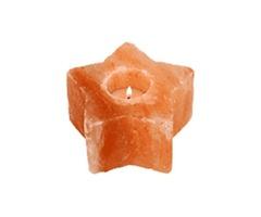 Get Starco Himalayan Salt Candle Holder