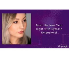 Start the New Year Right with Eyelash Extensions!