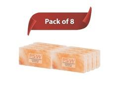 Himalayan Pink Salt Bricks (Pack Of 8)