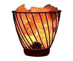 Sorx Pink Salt Metal Basket