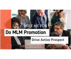 I will #promote #mlm, #network marketing, drive #prospect #mlm traffic