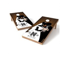 Get Attractive Wedding Cornhole Game at Best Rates from a professional Website!