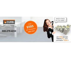 Join 100% Commission Real Estate Brokers - CURB Realty