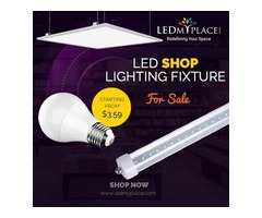 Use Eco-friendly LED Shop Lighting to Spread Brightness