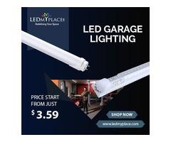 Use Eco-friendly LED Garage Lighting to Spread Brightness