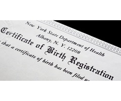 Obtain Birth Certificate Replacement in West Virginia