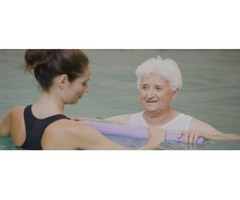 Gain strength through aquatic therapy
