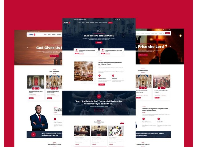 Zegen - Best Church WordPress Theme by  zozothemes   free-classifieds-usa.com