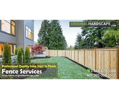 Privacy fence serving Burke VA