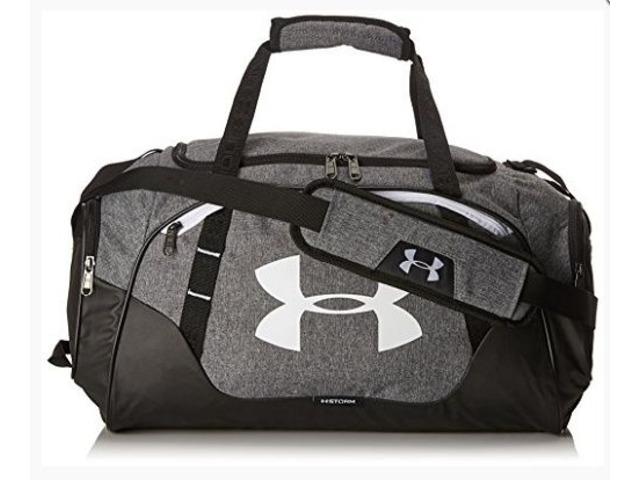Under Armour Undeniable Duffle 3.0 Gym Bag, Graphite (041)/White, Medium   free-classifieds-usa.com