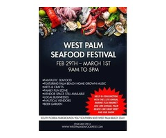 West Palm Seafood Festival - West Palm Beach|