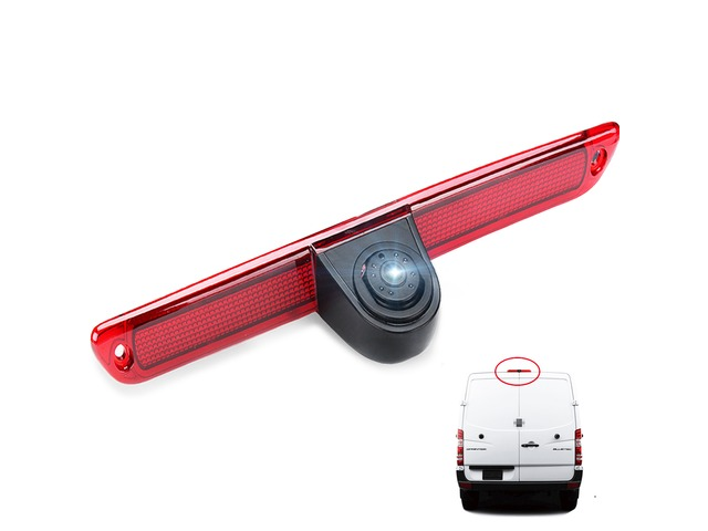 Car High Mount Brake Light Reversing Rear View Camera IP68 for Mercedes Sprinter/ Volkswagen Crafter | free-classifieds-usa.com