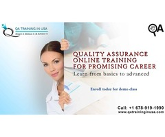 Advanced Quality Assurance Online Training Course