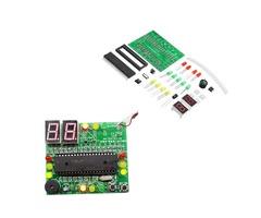 DIY 51 Single Chip Traffic Light Kit Electronic Production DIY LED Flash Kit