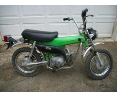1973 Honda ST 90 Trailsport green Mini trail