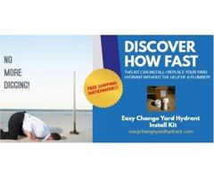 Easy Change Yard Hydrant INSTALL Kit