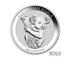 2020 Silver 1 oz Australia Perth Koala Coin