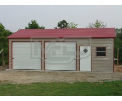 Get Top Rated Prefab Metal Garage Building from Metal Carports Direct