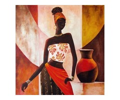 African Painting | Buy African Women Painting Online