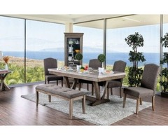 Get Bridgen Cottage Table with 4 Chairs and Bench