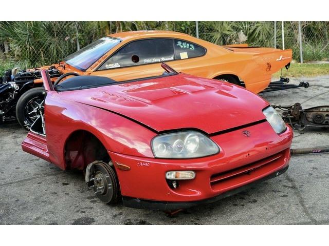 Toyota Supra Turbo Front Clip Cut JDM OEM 2JZGTE JZA80 RHD Automatic Half MK4 | free-classifieds-usa.com