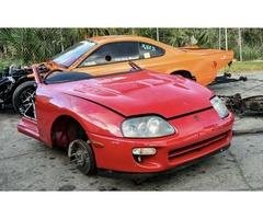 Toyota Supra Turbo Front Clip Cut JDM OEM 2JZGTE JZA80 RHD Automatic Half MK4