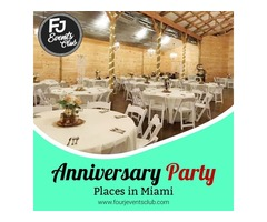 Anniversary Party Places in Miami