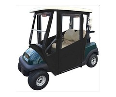 Doorworks Hinged Door Golf Cart Enclosures