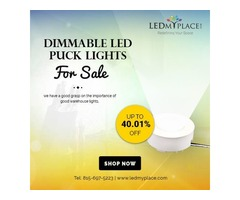 Buy Best Quality Led Puck Lights Fixtures- Price Dropped