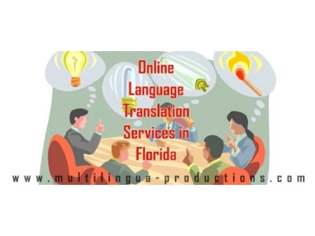 Hire the Services of Online Language Translation in Florida Offered by Multilingua Productions   free-classifieds-usa.com