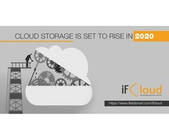 Cloud Storage is set to rise in 2020