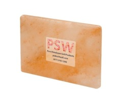 """Himalayan Pink Salt Tile (12"""" x 8"""" x 1"""")"""