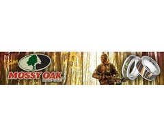 Men's Mossy Oak Camo Rings-TheJewelrySource.Net