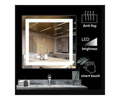 BATH KNOT Wall Mounted Smart Vanity Mirror