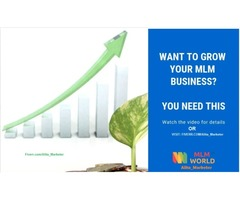 I will drive prospect promote MLM advertise network marketing