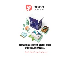 Find The Quality Designed Custom Retail Boxes In Wholesale Rates.