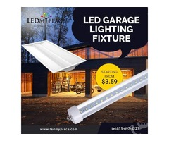 Light up your Surrounding By LED Garage Lighting fixture