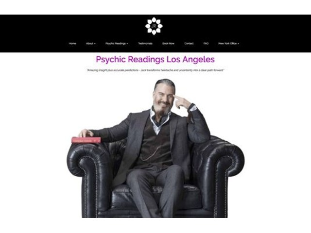 Jack Rourke, Los Angeles Wide Known Psychic | free-classifieds-usa.com